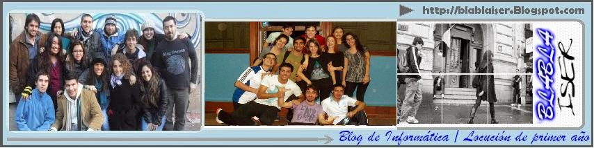 Blog de Locución de 1er año del ISER