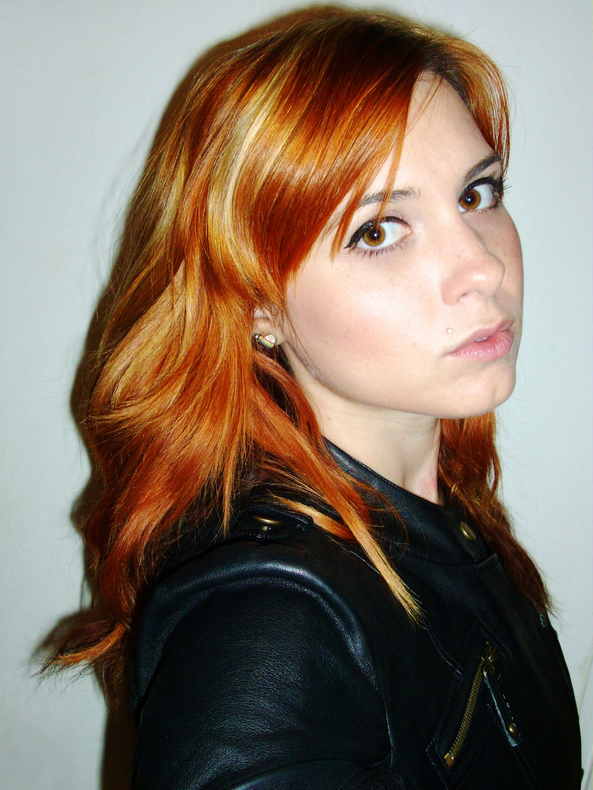 The gallery for --> Black Hair With Orange Highlights