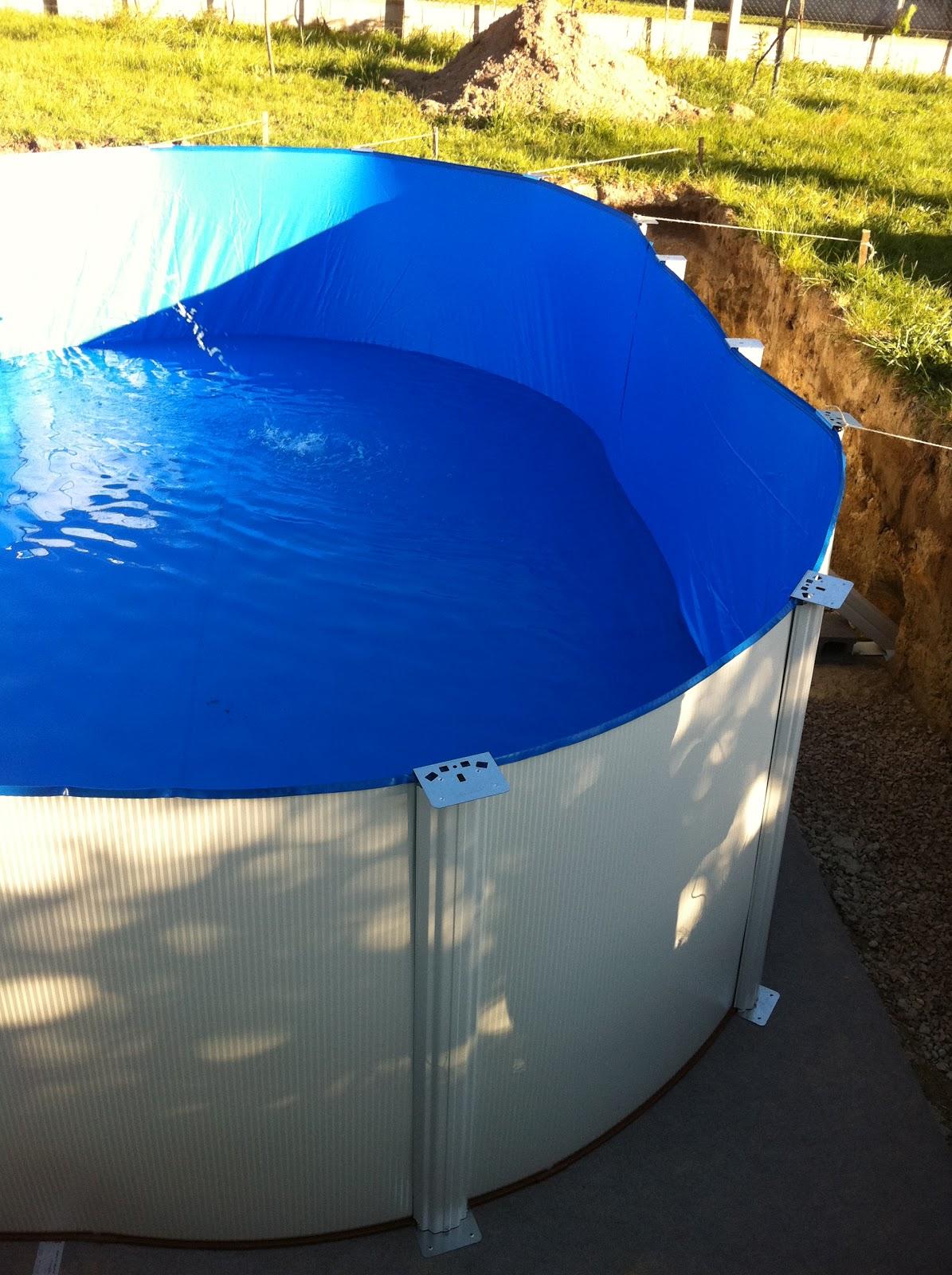 Montaje piscina gre enterrada como montar una piscina gre enterrada paso a paso - Piscinas de montar ...