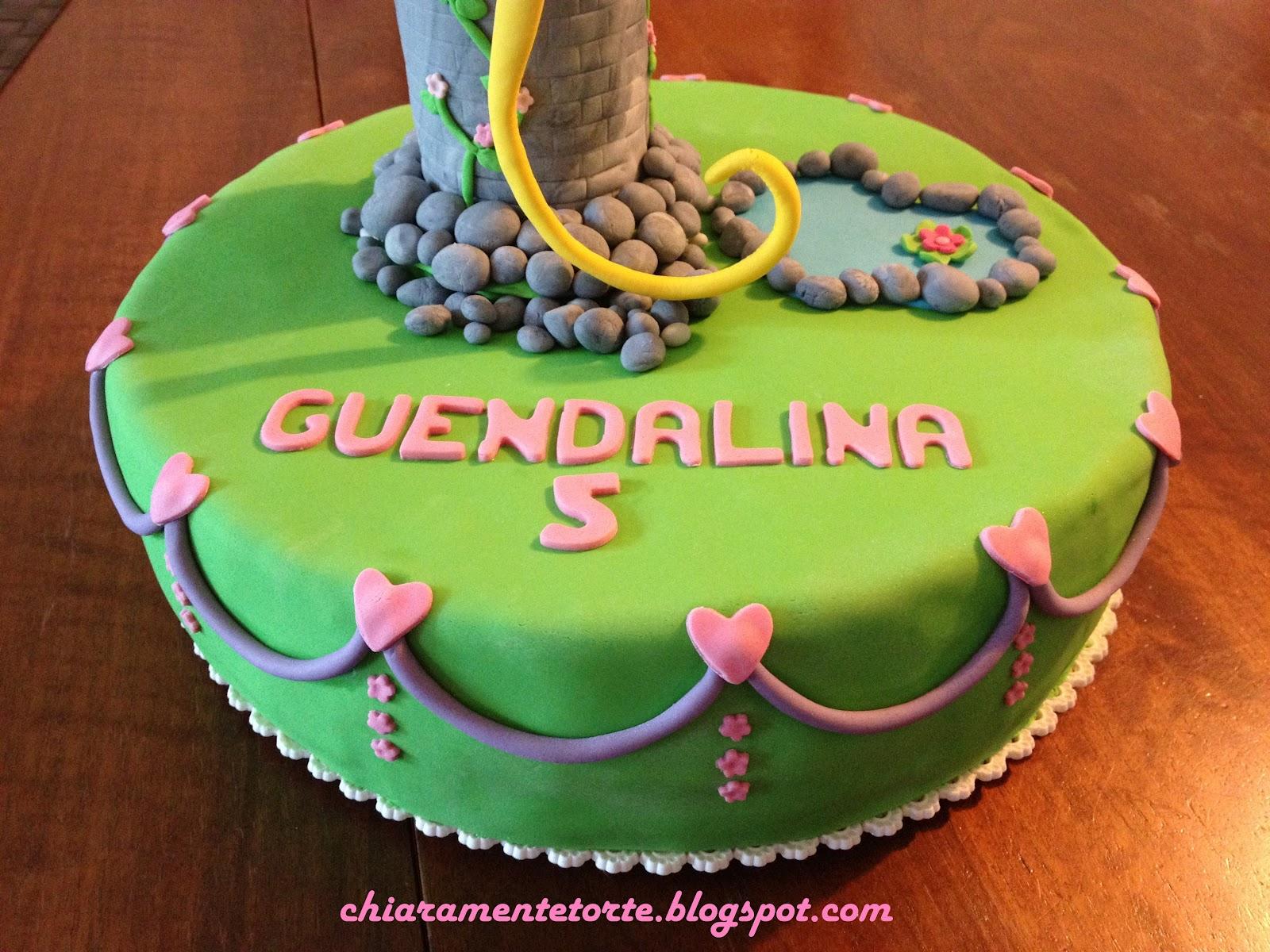 spesso CHIARAmenteTorte!: Sulla torre c'è Rapunzel! Una torta da  GU71