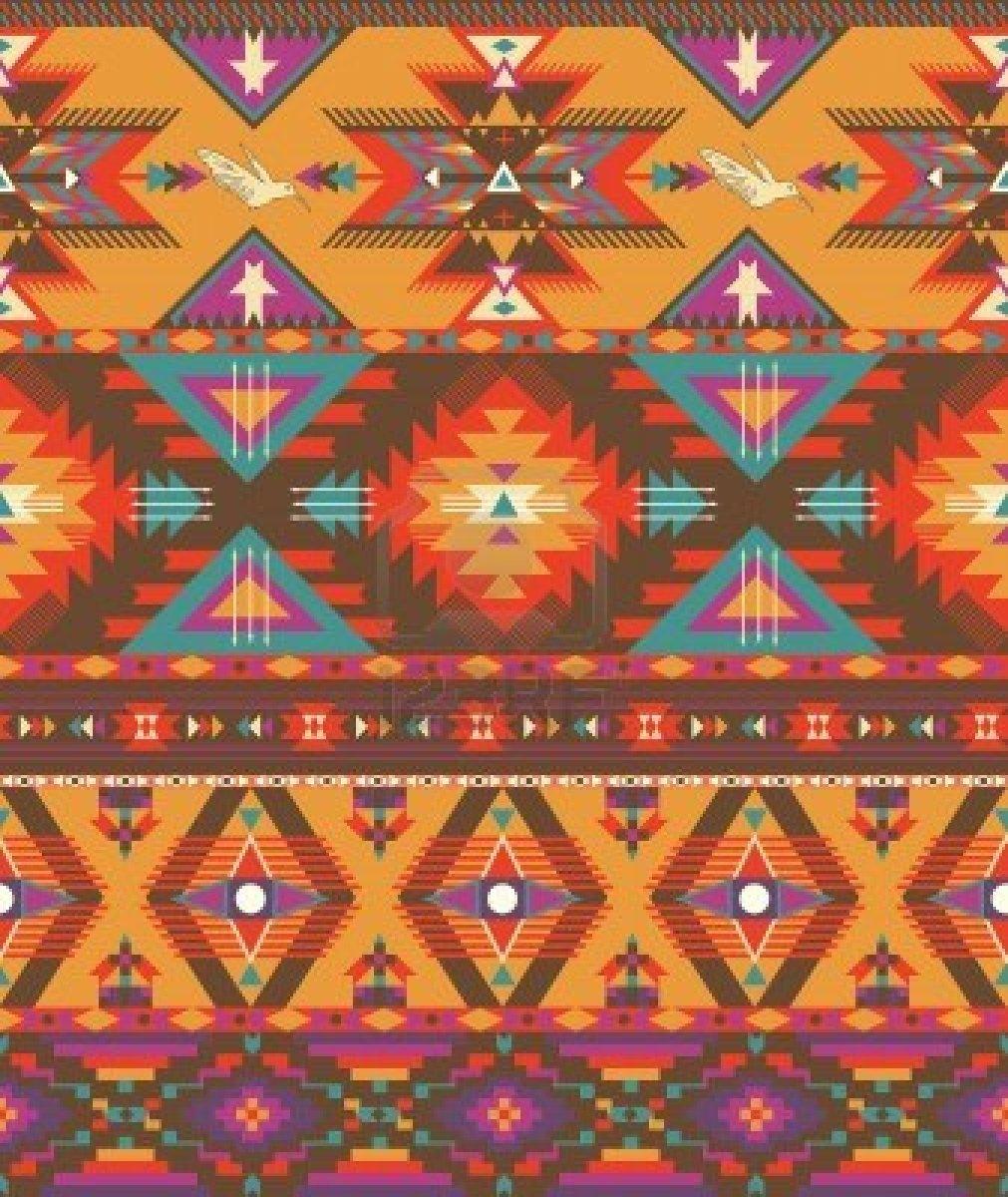 Colorful Aztec Prints ...