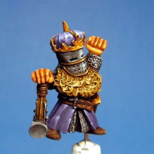 Mis Olvidadas Figuras: Jaeckel Alone: Step by step: a Dwarf King