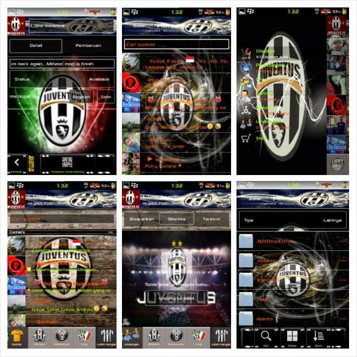 BBM Modifikasi Versi Serba Juventus | Forza Juve!