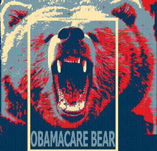 ObamaCare Bear Attacks Congress