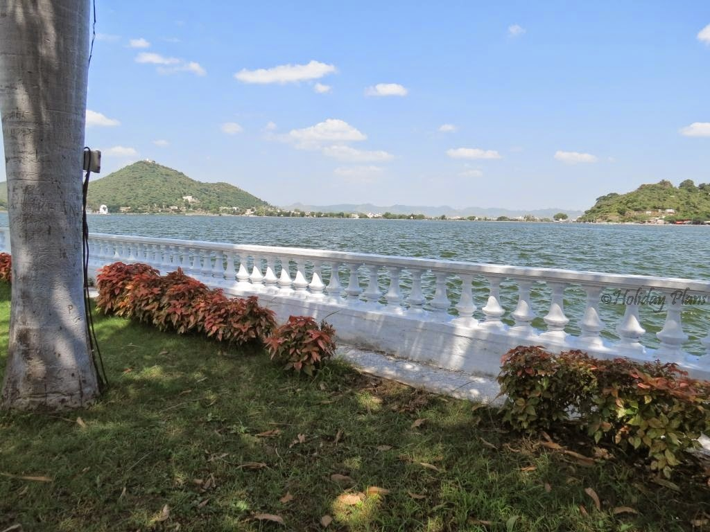 Fateh Sagar Lake view from Nehru park