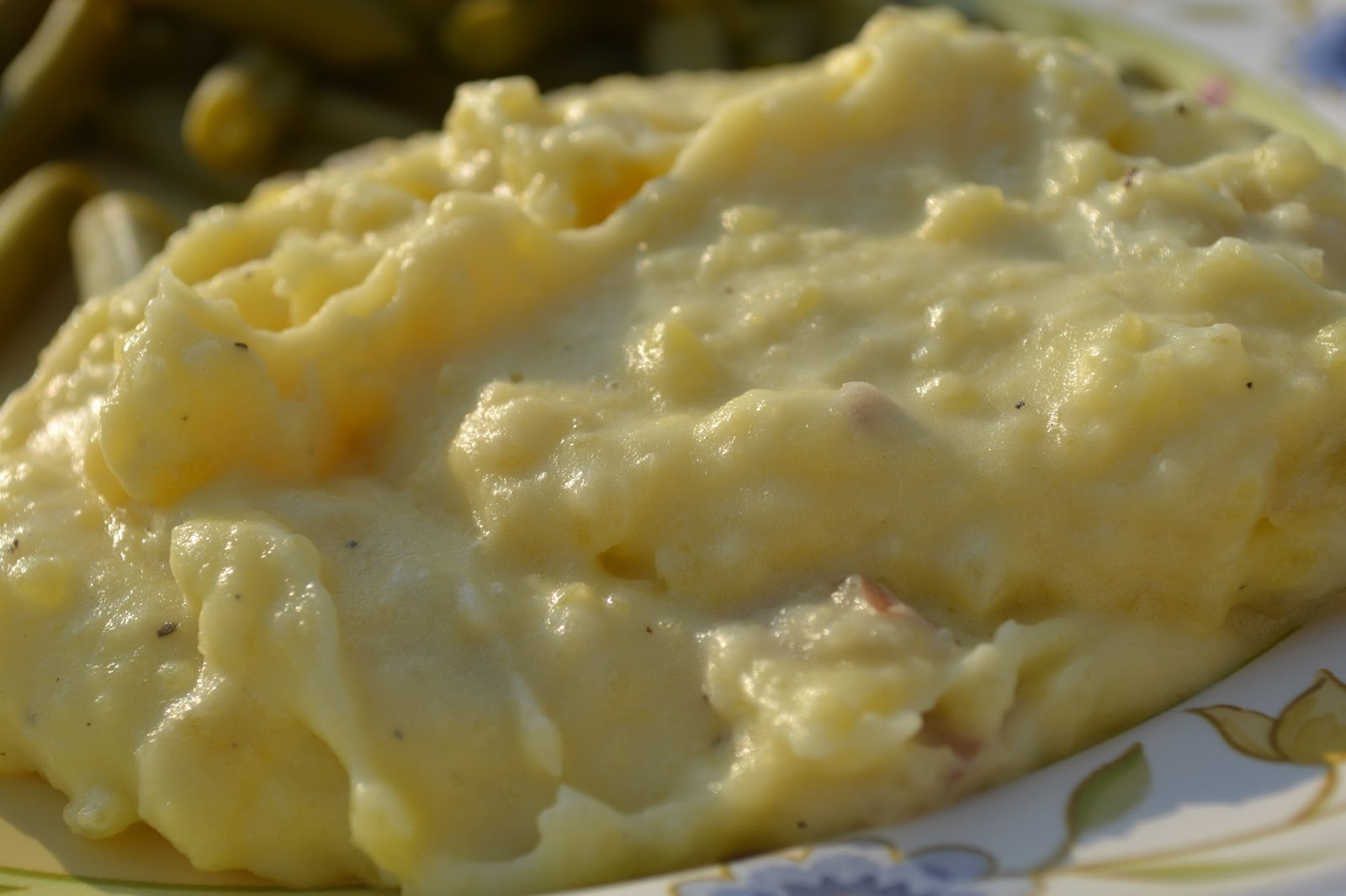 Creamy, Cheesy Mashed Potatoes