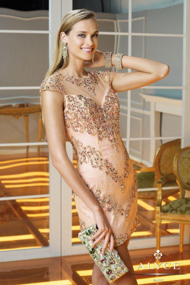 Hermosos vestidos de fiesta cortos | Colección Alyce Paris