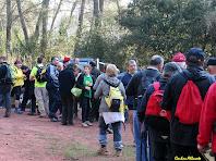 El primer avituallament sota el Morro de Porc. Autor: Carlos Albacete