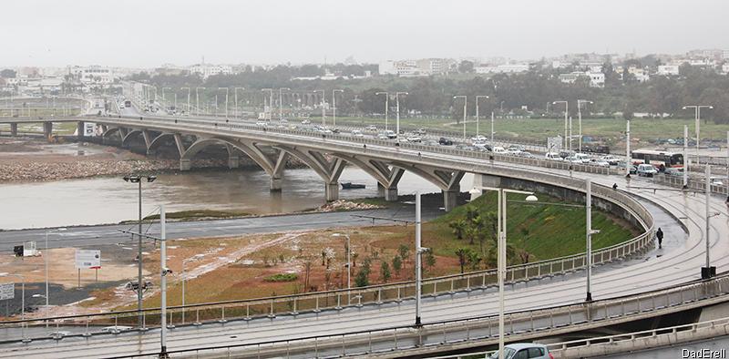 Pont entre Rabat et Salé