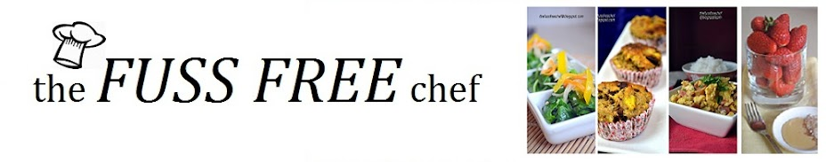 the FUSS FREE chef