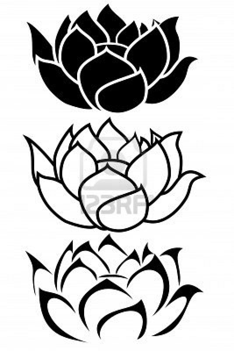 tribal lotus flower tattoo meaning traditional tattoo background filler. Black Bedroom Furniture Sets. Home Design Ideas