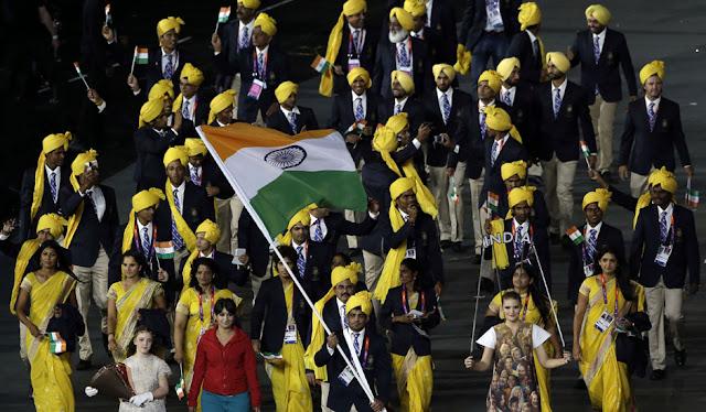 Traditional Uniform Fashion♡London Olympics 2012 India