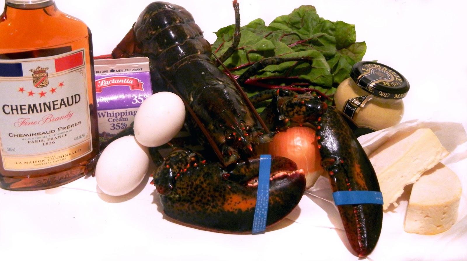 Derek's Kitchen: Lobster Thermidor