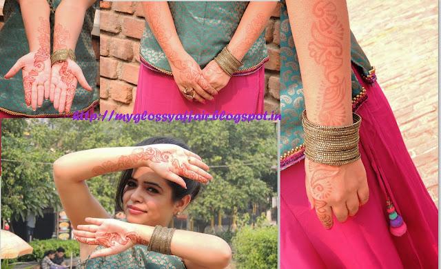 Festival Fashion at My Glossy Affair - Happy Diwali :)