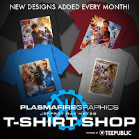 PLASMAFIRE GRAPHICS T-SHIRT SHOP
