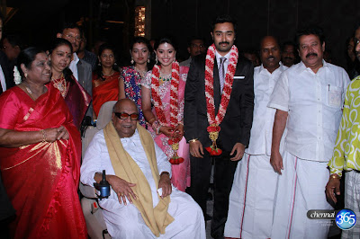 Prasanna Sneha-Wedding Reception stills
