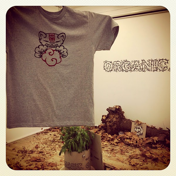 espionage gallery - organic: tee shirt show - 30/5/13