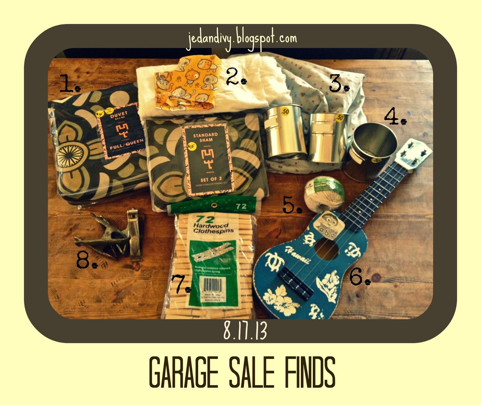 Garage Sale Finds 8 17 13 Ivy Amp Co