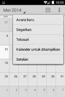 syncronisasi google calendar di android