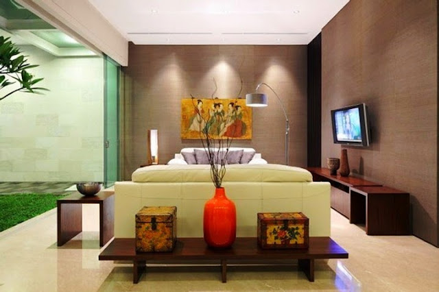 japanese living room wall painting ideas