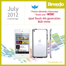 breedo, 1 item a day, lebanon, beirut, best deals, best buy, bargain, tech, electronics, technology, photography, photography news, win, giveaway, ipod, ipod touch, win an ipod