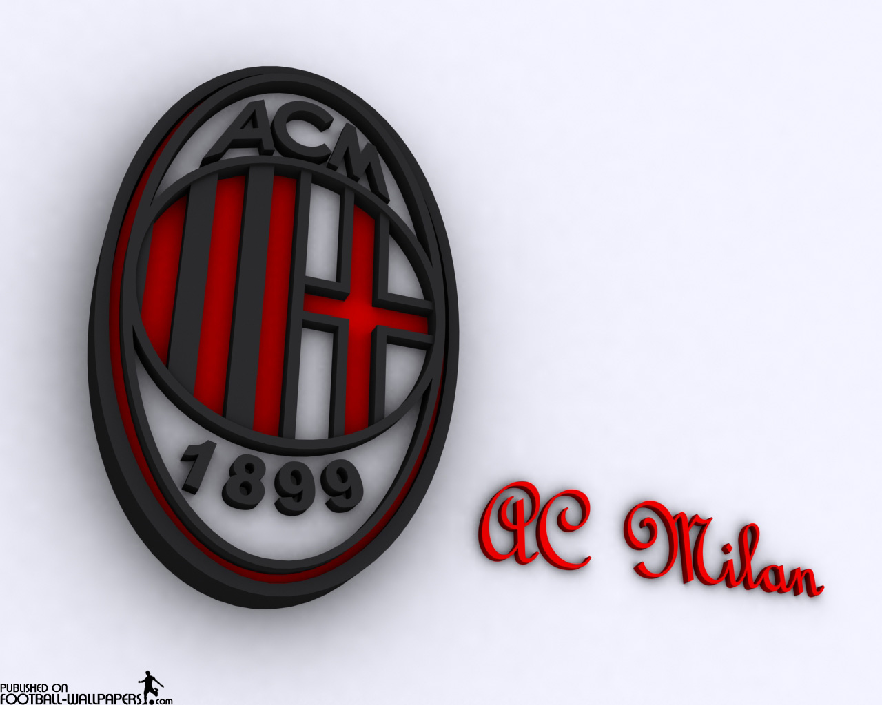 Hd wallpaper ac milan - Ac Milan Football Logo Wallpaper High Definition 2013