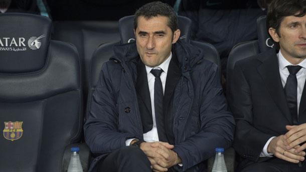 Ernesto Valverde, contento con el trabajo del Athletic contra el Barça