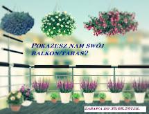 Pokażesz nam swój balkon/taras?