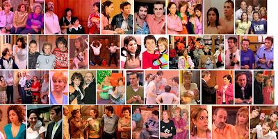 Fotogramas de escenas de la serie Aquí no hay quien viva