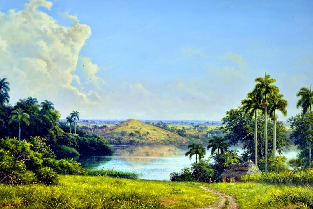 paisaje-al-oleo-con-rio
