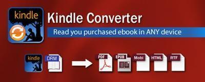 convert Kindle ebooks to PDF ePUB Word Text Html format