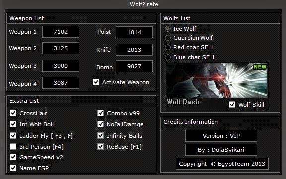 wolfteam hileleri Wolfteam WolfPirate Vip Hile Botu Yeni Versiyon indir