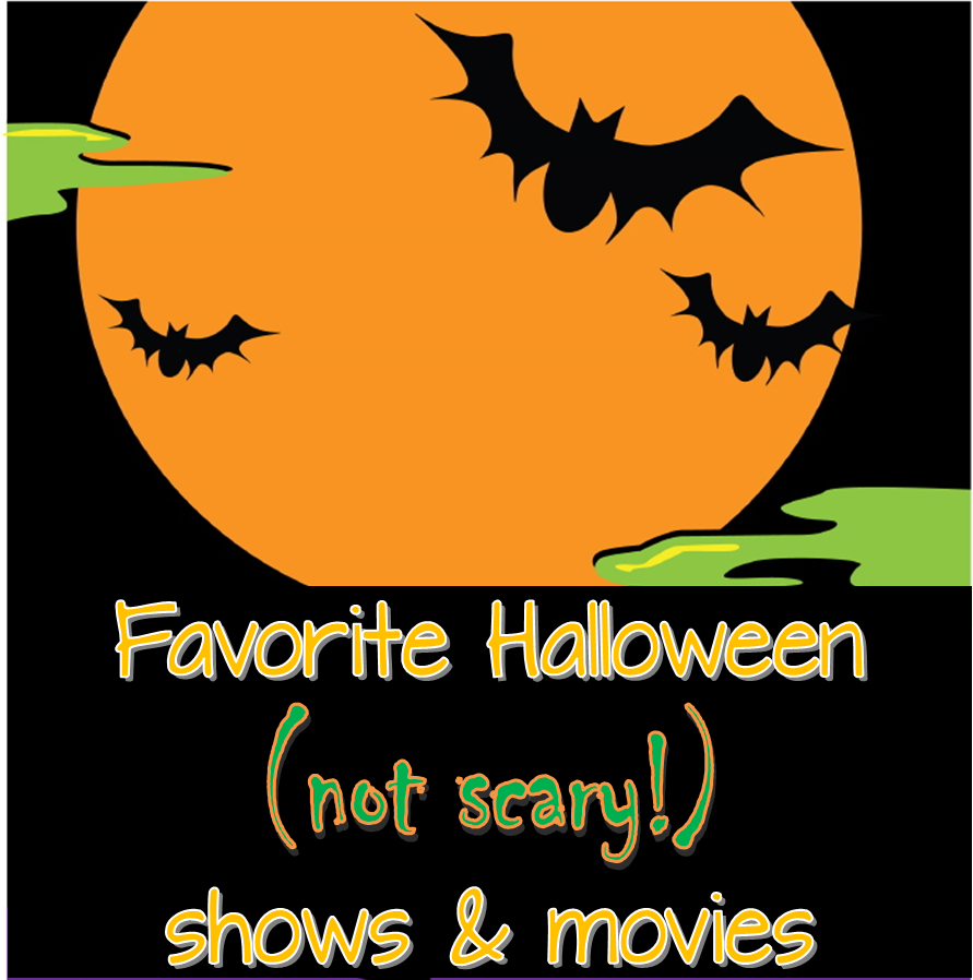 Favorite (not scary!) Hallween shows & movies for kids ~ Life in Random Bits #halloween #movies #kids