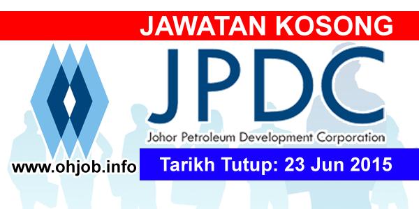 Jawatan Kerja Kosong Johor Petroleum Development Corporation (JPDC) logo www.ohjob.info jun 2015