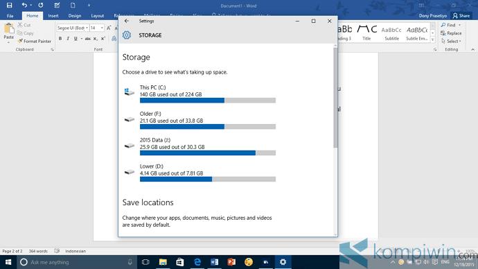 Cara Install Universal Apps Windows 10 di Drive Lain – Beberapa Hal yang Perlu Diketahui 1