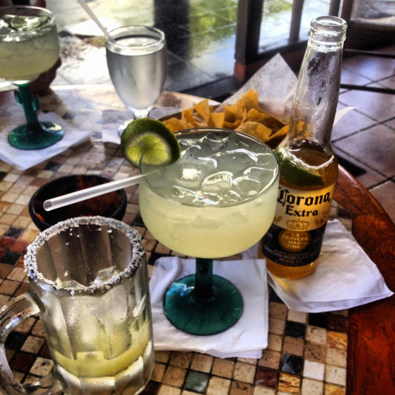 Margaritas and Coronas