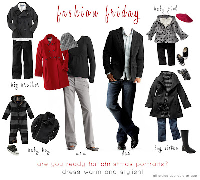 clothing guidelines for family portraits