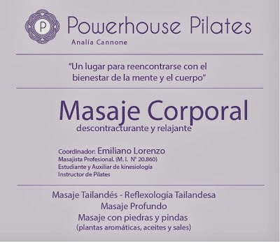 Powerhouse Pilates - Masajes