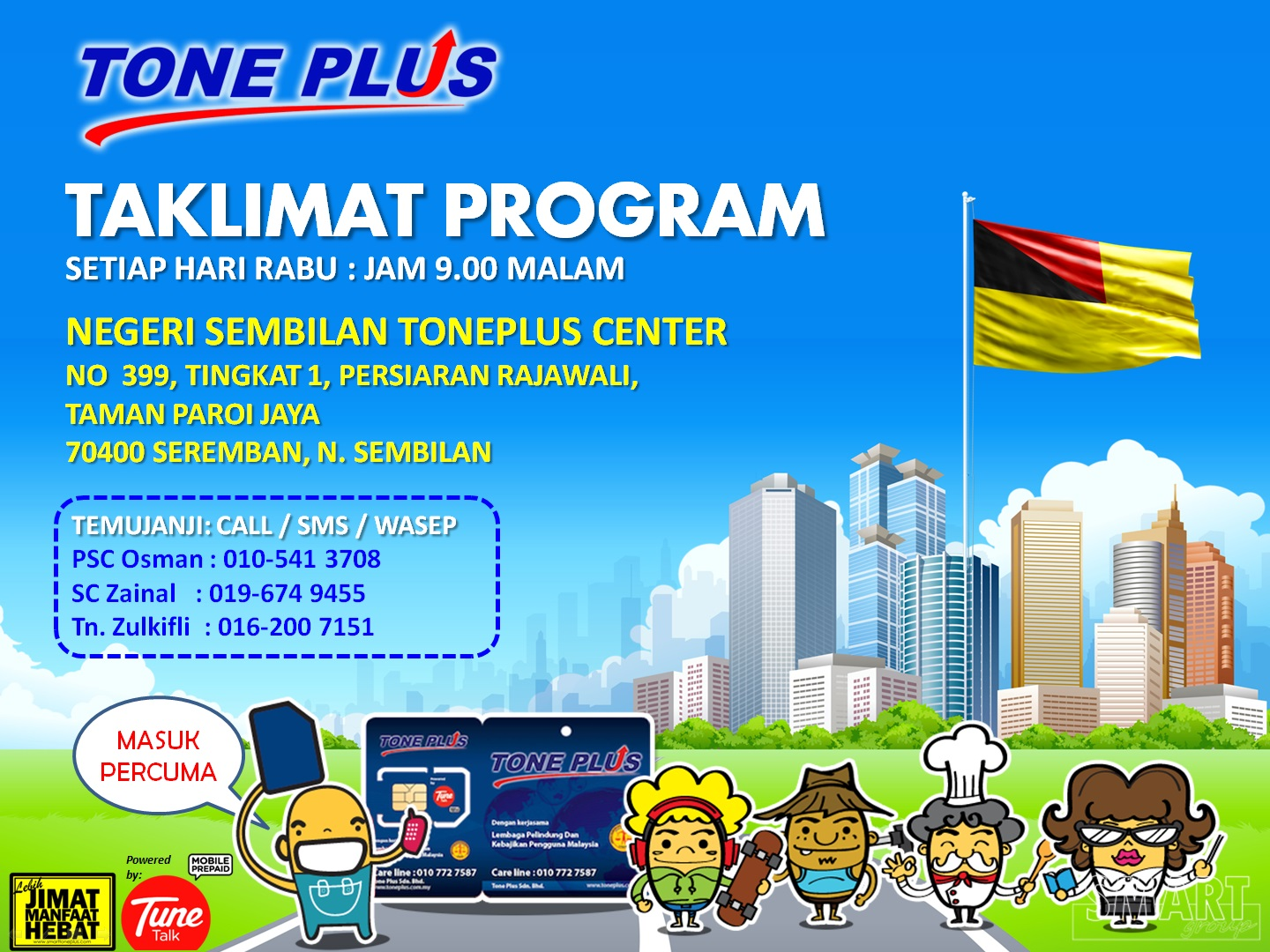 Tone Plus Preview N. Sembilan