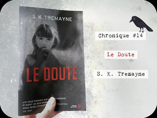 chronique le doute S.K. Tremayne, thriller, presses de la cité