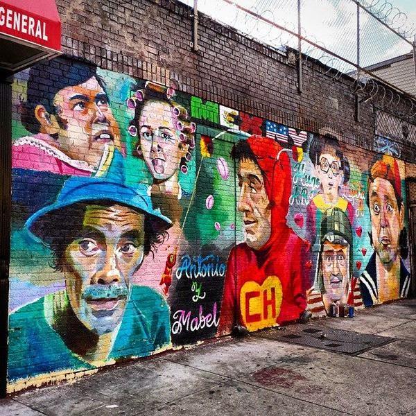 Homenagem a turma do Chaves