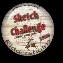 Riddersholm julekort challenge