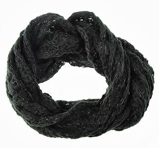Vero Moda Siyah Örgü Boyunluk