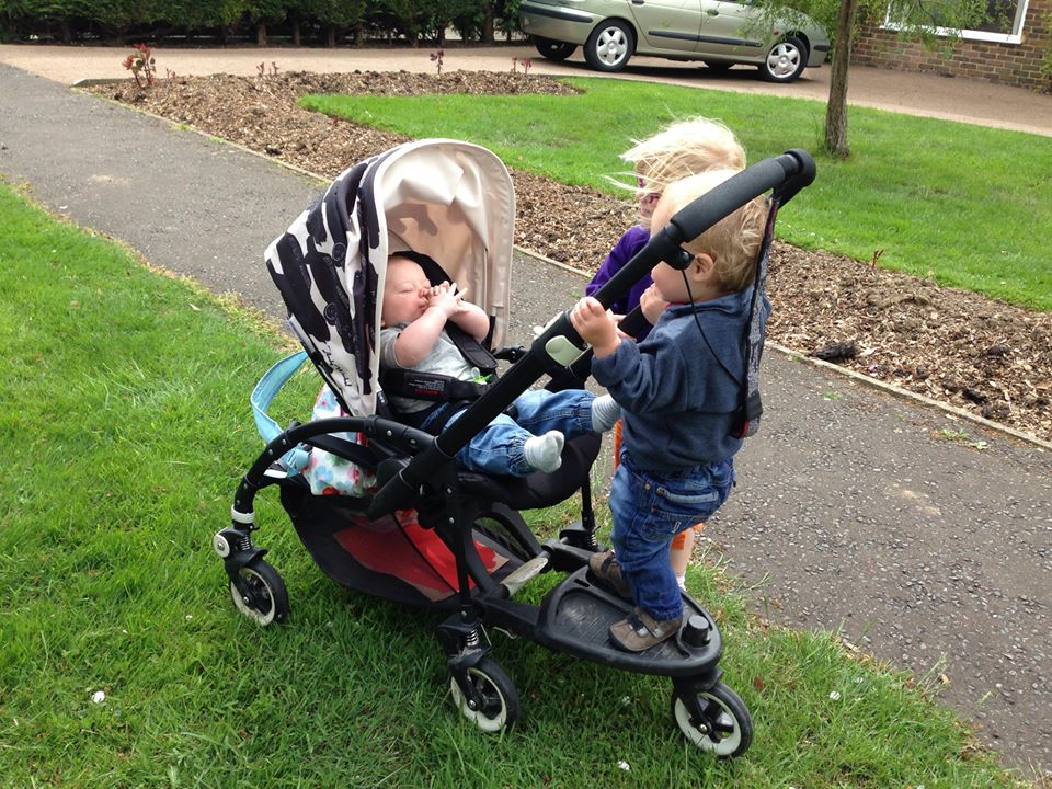 Bugaboo Brigade. The perfect Buggy for 3 children! (Please note I only have 2 children) - Yes I got my Andy Warhol Hood! All Black Bugaboo Bee Plus. & BusyBee | UK Crafty Talipes Baby and Lifestyle Blog: The Bugaboo ...