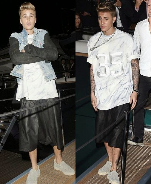 Barbara Palvin has been exploring her optimum value to seduce Justin Bieber during Roberto Cavalli's Yacht party in Cannes on Wednesday night, May 21, 2014.