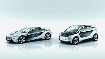 BMW introduces new i3 and i8 hybrid concepts