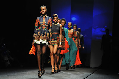 African Fashion Week Luxe Models