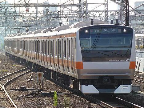 中央線 青梅線直通 河辺行き E233系(2015.3.14ダイヤ改正に伴い消滅)