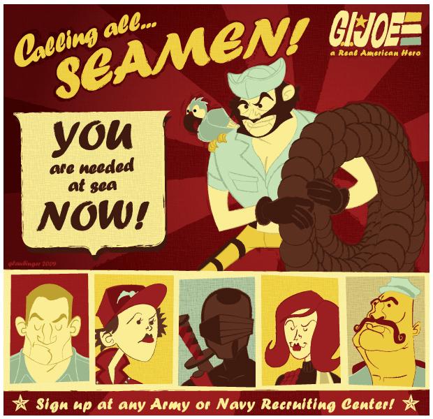 Calling All Seamen!