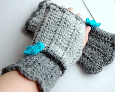 wrist warmers free crochet pattern